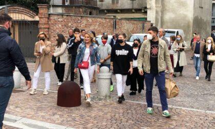 Festa dei Nocciolini, il video della premiazione di Pecco Bagnaia e Simona Ventura