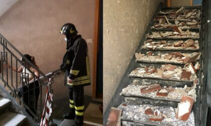 Corso Racconigi: cadono a pezzi le case popolari