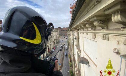 Si rompe un tubo in mansarda: allagato l'edificio dell'Università