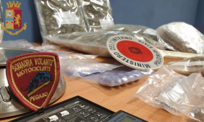 In 24 ore arrestati due pusher e sequestrati 7 chili di marijuana e hashish