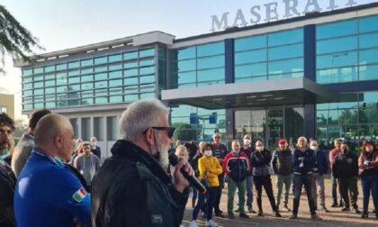 Maserati di Grugliasco: lavoratori in picchetto, sciopero contro il trasloco a Mirafiori