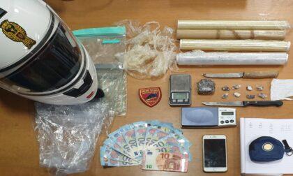26enne arrestato dalla polizia per spaccio di droga in Borgata Paradiso